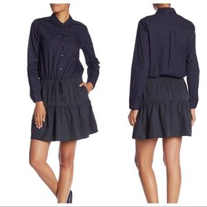 Scotch & Soda Colorblock Skirt Dress